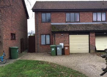 Thumbnail 3 bed semi-detached house to rent in Farm Close, Lingwood, Norwich