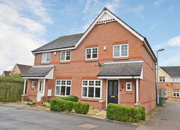 Thumbnail 3 bedroom semi-detached house for sale in Mill Chase Close, Wakefield