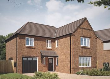 Thumbnail 4 bed detached house for sale in The Acres, Acresford Road, Overseal, Derbyshire