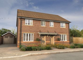 "Thumbnail 3 bed semi-detached house for sale in ""The Byron"" at University Park Drive, Worcester"