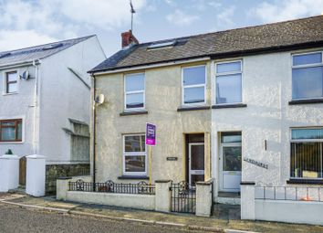 Thumbnail 3 bedroom semi-detached house for sale in Dyffryn, Goodwick