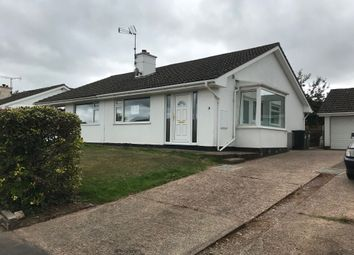 Thumbnail 2 bed bungalow to rent in Cleave Close, Tedburn St Mary, Exeter