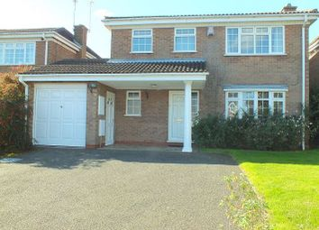 Thumbnail 4 bed detached house to rent in Bowbrook Avenue, Shirley, Solihull
