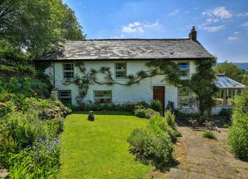 Thumbnail 4 bed farmhouse for sale in Hillside, Llangattock, Crickhowell
