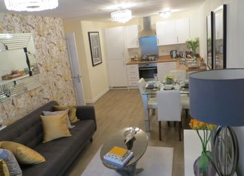 Thumbnail 2 bed flat to rent in Kingsmead Court, Hertford, Hertfordshire