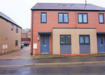 Thumbnail 2 bedroom semi-detached house for sale in Royston Court, Nottingham