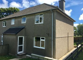Thumbnail 3 bed semi-detached house for sale in Tregie, Newlyn, Penzance