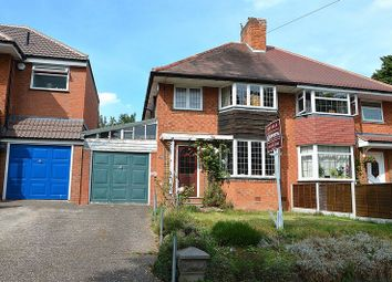 Thumbnail 3 bed semi-detached house for sale in Haunch Lane, Kings Heath, Birmingham