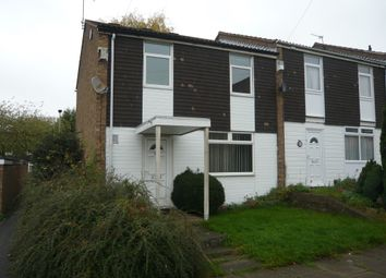 Thumbnail 3 bed town house for sale in Goodwood Road, Evington, Leicester