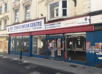 Thumbnail Retail premises for sale in Harbour Street, Ramsgate
