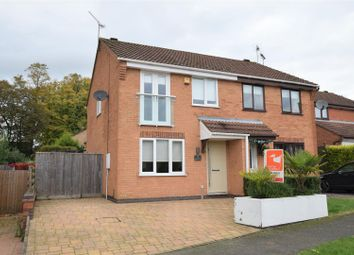Thumbnail 3 bed semi-detached house to rent in Heron Road, Oakham