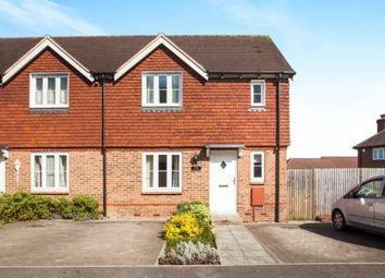 Thumbnail 3 bed end terrace house for sale in Green Fields Lane, Ashford, Kent