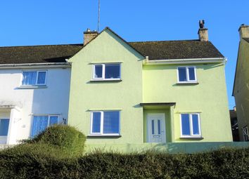 Thumbnail 3 bed semi-detached house to rent in Lanchard Road, Liskeard, Cornwall