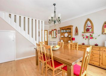 Thumbnail 3 bed terraced house for sale in Knights Croft, New Ash Green, Longfield, Kent