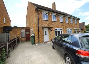 Thumbnail 3 bed semi-detached house for sale in Corwell Gardens, Uxbridge