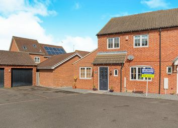 Thumbnail 3 bedroom semi-detached house for sale in Sandhurst Road, Hampton Vale, Peterborough