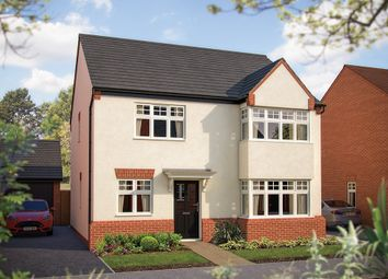 "Thumbnail 4 bed detached house for sale in ""The Canterbury"" at Larbourne Park Road, Flore, Northampton"