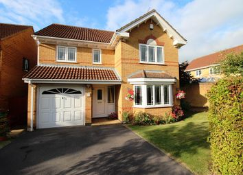 Thumbnail 4 bed detached house for sale in Hopkins Close, Thornbury, Bristol
