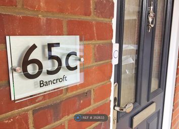 Thumbnail 1 bed maisonette to rent in Bancroft, Hitchin