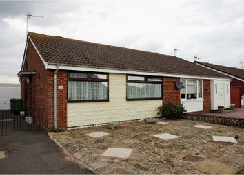 Thumbnail 2 bed semi-detached bungalow for sale in Laurel Avenue, St Marys Bay, New Romney