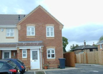Thumbnail 3 bed town house to rent in Island Close, Albert Village, Swadlincote