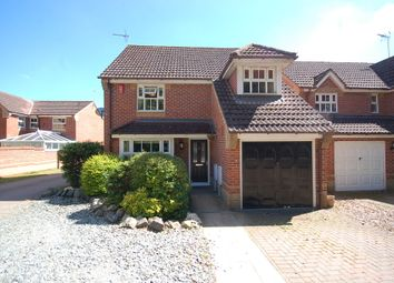 Thumbnail 4 bed detached house for sale in Buttercup Close, Thetford