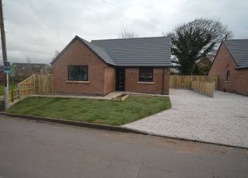 Thumbnail 2 bed bungalow for sale in Plot 2, Draycott Road, North Wingfield, Chesterfield, Derbyshire