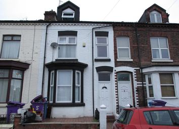 Thumbnail 5 bed terraced house for sale in Clifton Road East, Liverpool, Merseyside