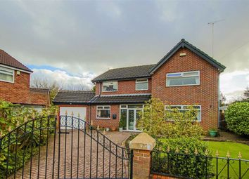 Thumbnail 4 bedroom detached house for sale in Grove Avenue, Failsworth, Manchester