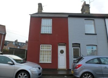 Thumbnail 3 bed end terrace house to rent in Harold Road, Lowestoft