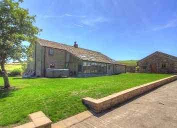 Thumbnail 5 bed farmhouse for sale in Inchfield Road, Walsden, Todmorden