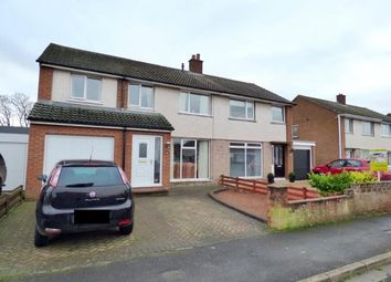 Thumbnail 4 bed semi-detached house for sale in Highmoor Park, Wigton, Cumbria