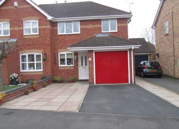 Thumbnail Detached house for sale in Hogarth Drive, Hinckley, Leicestershire