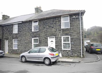 Thumbnail 2 bed end terrace house for sale in Railway Place, Porthmadog, Gwynedd