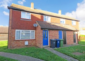 Thumbnail 2 bed semi-detached house for sale in Bath Crescent, Wyton, Huntingdon