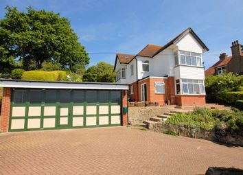 Thumbnail 5 bedroom detached house for sale in North Road, Hythe