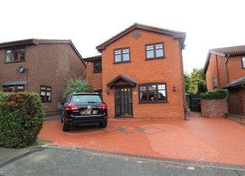 Thumbnail 3 bed detached house for sale in Daleside Avenue, Wrexham