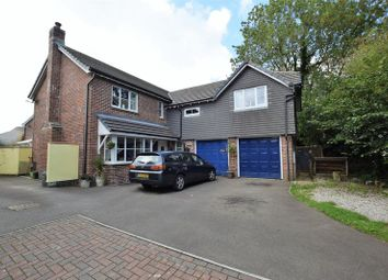 Thumbnail 5 bed detached house for sale in Chough Close, Launceston