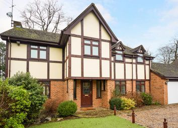 Thumbnail 4 bed detached house to rent in Holmes Close, Ascot