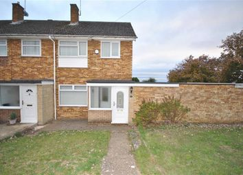 Thumbnail 3 bed end terrace house for sale in Leyland Drive, Kingsthorpe, Northampton