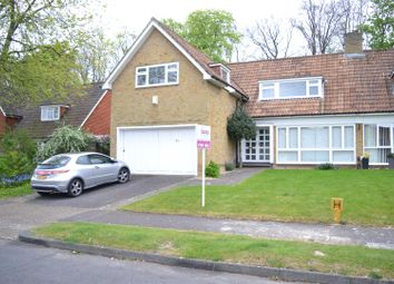 Thumbnail 4 bed semi-detached house for sale in The Ridings, Epsom