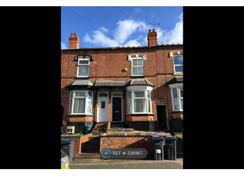 Thumbnail 2 bed terraced house to rent in Ashley Road, Birmingham