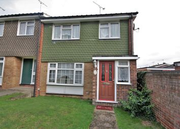 Thumbnail 3 bed end terrace house to rent in West Lawn, Galleywood, Chelmsford