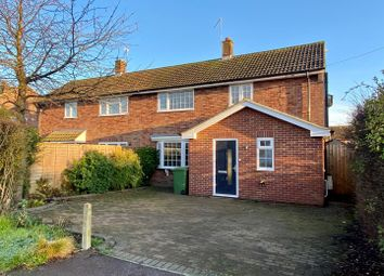 Thumbnail 4 bed semi-detached house for sale in Glebe Road, Buriton, Petersfield