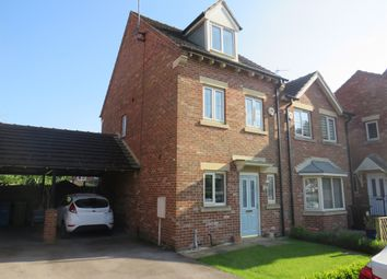 Thumbnail 3 bed semi-detached house for sale in Burleigh Court, Tuxford, Newark