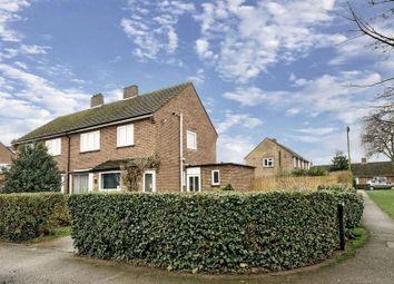 Thumbnail 3 bed semi-detached house for sale in Hawthorn Road, St. Neots