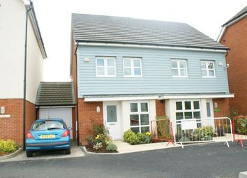 Thumbnail 2 bed property to rent in Ashmount Crescent, Cippenham, Slough
