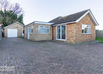 Thumbnail 3 bed detached bungalow for sale in Addison Close, Feltwell, Thetford, Norfolk