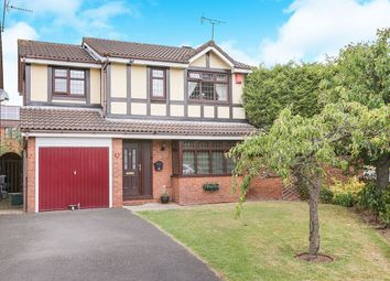 Thumbnail 4 bed detached house for sale in Fincham Close, Pendeford, Wolverhampton