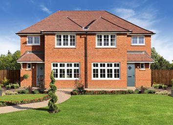 "Thumbnail 3 bedroom semi-detached house for sale in ""Ludlow"" at Cot Hill, Llanwern, Newport"
